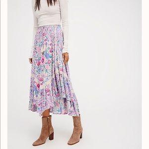 SWAPS Babushka Kerchief Maxi Skirt